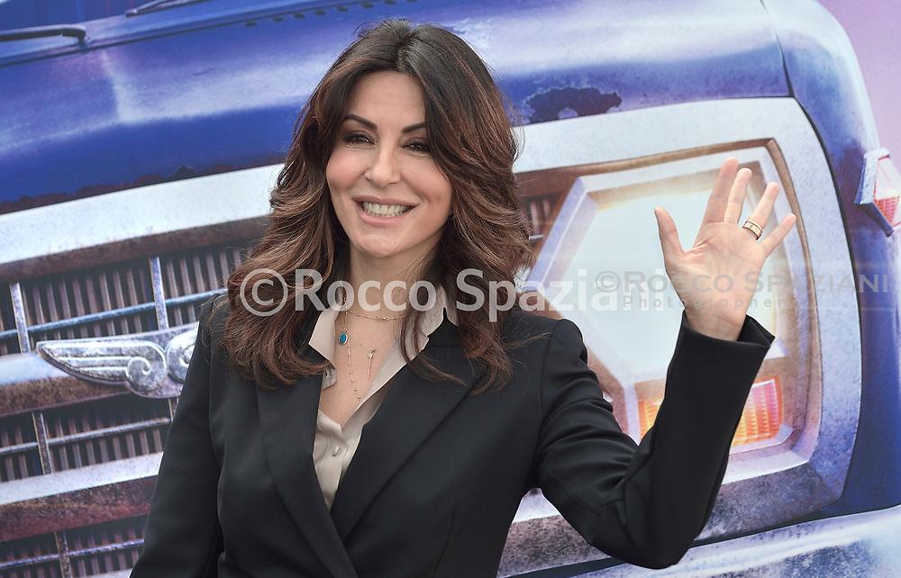 Sabrina Ferilli during photocall for the presentation of the Disney cartoon Pixar Onward. Rome (Italy), February 25th, 2020