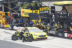 May 6, 2018 - Dover, Delaware, United States of America - Ryan Blaney (12) comes down pit road for service during the AAA 400 Drive for Autism at Dover International Speedway in Dover, Delaware. (Credit Image: © Justin R. Noe Asp Inc/ASP via ZUMA Wire)