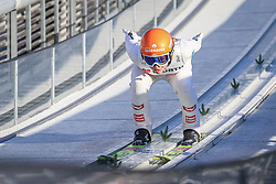02.03.2021, Oberstdorf, GER, FIS Weltmeisterschaften Ski Nordisch, Oberstdorf 2021, Damen, Skisprung, HS137, Einzelbewerb, Qualifikation, im Bild Marita Kramer (AUT) // Marita Kramer (AUT) during the qualification jump for the women ski Jumping HS137 single competition of FIS Nordic Ski World Championships 2021 Oberstdorf, Germany on 2021/03/02. EXPA Pictures © 2021, PhotoCredit: EXPA/ Tadeusz Mieczynski