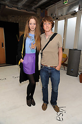 MORWENNA LYTTON COBBOLD and her brother EDWARD LYTTON COBBOLD at the official launch of the Visa Swap Shop 2008 held at No 1 The Piazza, Covent Garden, London WC2 on 16th July 2008.<br /> <br /> NON EXCLUSIVE - WORLD RIGHTS