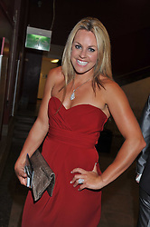 Leading British skiier CHEMMY ALCOTT at The Global Party held at The Natural History Museum, Cromwell Road, London on 8th September 2011.