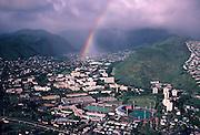 Rainbow, Manoa Valley, Oahu, Hawaii<br />