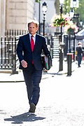 Transport Secretary Grant Shapps arrives in Downing Street on Tuesday, 21 July 2020 – to attend a Cabinet meeting for the first time since the lockdown to be held at the Foreign and Commonwealth Office (FCO) in London. (VXP Photo/ Vudi Xhymshiti)