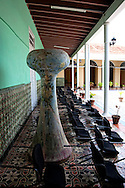 Laid back chairs in Gibara, Holguin, Cuba.