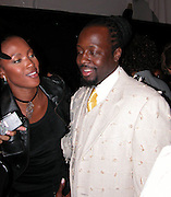 Naomi Campbell & Wyclef Jean<br />