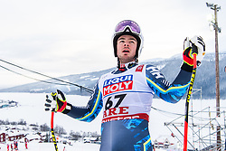 February 8, 2019 - Re, SWEDEN - 190208 Filip Platter of Sweden at the downhill training during the FIS Alpine World Ski Championships on February 8, 2019 in re  (Credit Image: © Daniel Stiller/Bildbyran via ZUMA Press)