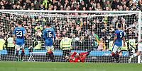 Football - 2016 / 2017 Scottish League Cup - Semi-Final - Celtic vs. Rangers<br /> <br /> Matt Gilks of Rangers is beaten by Moussa Dembele of Celtic at Hampden Park.<br /> <br /> COLORSPORT/LYNNE CAMERON