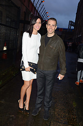 LINZI STOPPARD and WILL STOPPARD at Club DNKY in celebration of #DKNYARTWORKS held at The Firestation, Lambeth High Street, London SE1 on 12th June 2013.