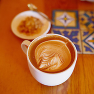 A Cappuccino from the Urth Cafe in Los Angeles, California