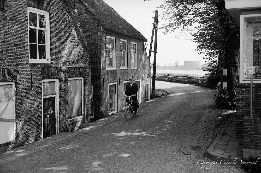 """The remains of the old town hall """"Van Ouds Het Raadshuis"""" in the village of Ammerstol, The Netherlands."""
