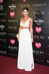 Global Gift Gala party at STK Ibiza . 21 Jul 2017 Pictured: Lucy Mecklenburgh. Photo credit: MEGA TheMegaAgency.com +1 888 505 6342