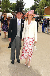 LORD & LADY LLOYD-WEBBER at the first day of the Royal Ascot racing festival 2006 at Ascot Racecourse, Berkshire on 20th June 2006.<br />