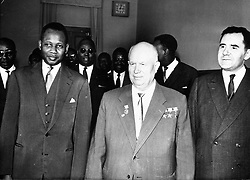 Aug 23, 1960; Paris, FRANCE; Prime Minister of the Senegal M. MAMADOU DIA. (Credit Image: © Keystone Press Agency/Keystone USA via ZUMAPRESS.com)