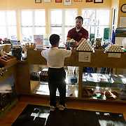 The First Tee of Monterey County opens the door to golf, as well as academic tutoring,  to many underprivileged kids of Salinas, CA, like Jose Calderon, seen grabbing a bucket of balls after finishing his homework.