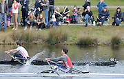 Eton, United Kingdom.    GBR  LM1X Zak LEE-GREEN winning the B Final Lightweight men's single Sculls at the 2012 GB Rowing Trials, Dorney Lake. Near Windsor Berks Sunday  11/03/2012  [Mandatory Credit; Peter Spurrier/Intersport-images]