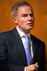 © Licensed to London News Pictures . 29/09/2017 . Torquay , UK . Leadership candidate PETER WHITTLE at the conference . UKIP is due to announce the winner of a leadership election which has the potential to split the party . Photo credit: Joel Goodman/LNP