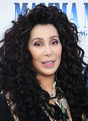 File photo dated 16/7/2018 of Cher who has criticised US President Donald Trump for his behaviour with the Queen during his visit to the UK.