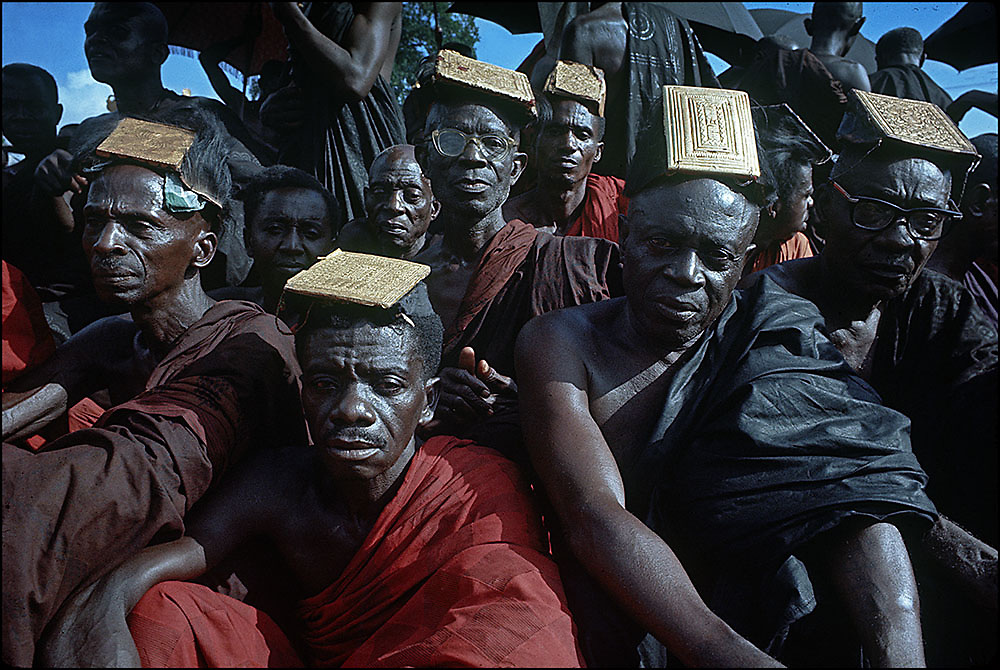 Tribal Chiefs at the Funeral of Asantehene Prempeh II