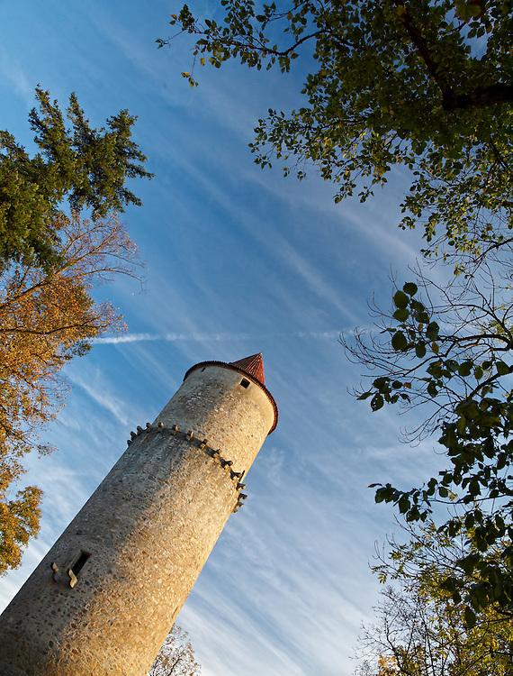 Zvikov castle - Main tower
