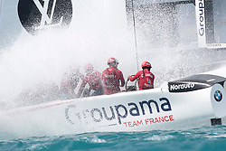 Artemis Racing wins their races agains Oracle Team USA and Softbank Team Japan on day 6 the Louis Vuitton America's Cup Qualifiers, 2nd of June, 2017, Bermuda