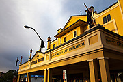 Gundagai Theatre, Gundagai, New South Wales, Australia. Art deco theatre and cinema built in 1929.
