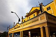 Gundagai Theatre, Gundagai, New South Wales, Australia. Art deco theatre and cinema built in 1929.