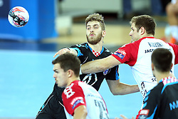 21.11.2015, Arena Zagreb, Zagreb, CRO, EHF CL, RK PPD Zagreb vs SG Flensburg Handewitt, Gruppe A, im Bild Domagoj Pavlovic. // during the EHF Champions League, group A match between RK PPD Zagreb and SG Flensburg Handewitt at the Arena Zagreb in Zagreb, Croatia on 2015/11/21. EXPA Pictures © 2015, PhotoCredit: EXPA/ Pixsell/ Goran Stanzl<br /> <br /> *****ATTENTION - for AUT, SLO, SUI, SWE, ITA, FRA only*****