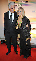 Barbara Streisand and James Brolin attend the 31st annual Kennedy Center Honors, at the John F Kennedy Center for the Performing Arts in Washington, DC on December 07, 2008