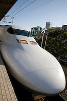 """Japan's main island of Honshu is covered by a network of high speed train lines that connect Tokyo with most of the island's major cities. Japan's """"bullet trains"""" are officially called the """"shinkansen"""" short for New Kansai Line and are operated by Japan Railways or JR."""