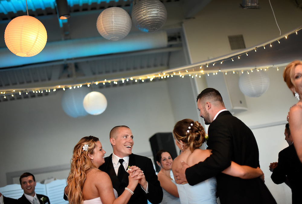 Wedding held at McLoone's Pier House in Long Branch, New Jersey.
