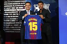 Paulinho signs for Barcelona, 17 Aug 2017