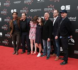 Edinburgh International Film Festival, Friday 30th June 2017<br /> <br /> ACCESS ALL AREAS (WORLD PREMIERE)<br /> <br /> The cast and crew together<br /> <br /> (c) Alex Todd   Edinburgh Elite media