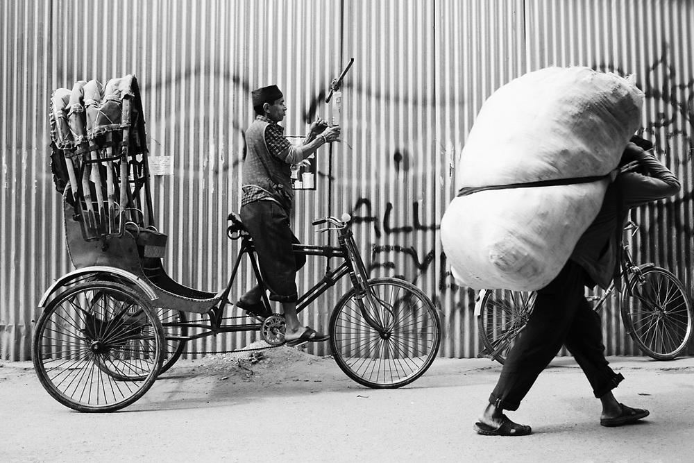Street scene in Tamel district, kathmandu. Nepal<br /> Photo by Lorenz Berna