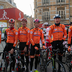 31-03-2019: Wielrennen: Kattekoers: Ieper<br /> Team Netherlands U-23