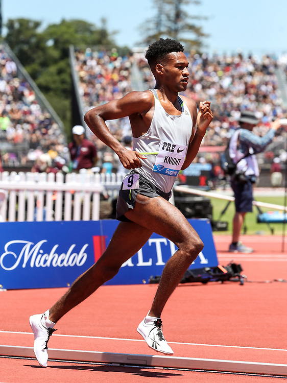 Justin Knight, Canada, mens 2-Mile 2019 The Prefontaine Classic Track & Field<br /> IAAF Diamond League