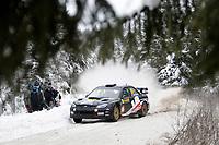 MOTORSPORT - WRC 2010 - RALLY SWEDEN - KARLSTAD (SWE) - 11 to 14/02/2010 - PHOTO : FRANCOIS BAUDIN / DPPI<br /> MADS OSTBERG (NOR) / JONAS ANDERSSON (SWE) - ADAPTA AS - SUBARU IMPREZA WRC - ACTION