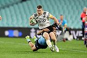 Luke Campbell. Waratahs v Hurricanes. 2021 Super Rugby Trans Tasman Round 1 Match. Played at Sydney Cricket Ground on Friday 14 May 2021. Photo Clay Cross / photosport.nz