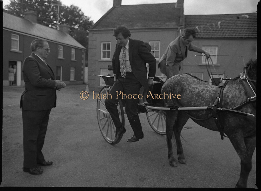 """The Carlingford Oyster Festival.1982.19.08.1982..08.19.1982.19th August 1982..Pictures and Images of the Carlingford Oyster Festival... The Minister For Fisheries and Forestry Mr Brendan Daly officially opened  The Carlingford Oyster Festival. The Chairman of the organising committee was Mr. Joe McKevitt..""""The Oyster Pearl"""" was Ms Deirdre McGrath."""