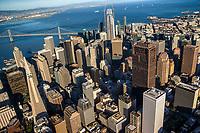 Above Downtown San Francisco