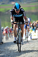 Sykkel<br /> Foto: PhotoNews/Digitalsport<br /> NORWAY ONLY<br /> <br /> OUDENAARDE, BELGIUM - APRIL 01: BOASSON HAGEN Edvald of Team SKY on the cobblestones of the Paterberg climb during the Flanders Classics UCI WorldTour 96th Ronde van Vlaanderen cycling race with start in Brugge and finish in Oudenaarde on April 01, 2012 in Oudenaarde, Belgium.