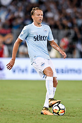 August 13, 2017 - Rome, Italy - Lucas Leiva of Lazio during the Italian Supercup Final match between Juventus and Lazio at Stadio Olimpico, Rome, Italy on 13 August 2017. (Credit Image: © Giuseppe Maffia/NurPhoto via ZUMA Press)