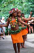 Dancers, Omoa village, Fatu Hiva, Marquesas, French Polynesia