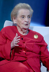 Madeleine Albright at The Business And Political Leaders Attend Clinton Global Initiative Annual Meeting in New York, September 19th 2016.
