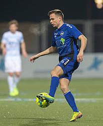 Mark Gundelach (HB Køge) under kampen i 1. Division mellem HB Køge og FC Helsingør den 4. december 2020 på Capelli Sport Stadion i Køge (Foto: Claus Birch).