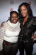 l to r: Olivia Scott-Perkins and Lisa Bonner at The Jamie Foxx's Album Release Party for Intuition, Sponsored by Vibe Magazine & Patron Tequila held at Home on December 17, 2008 in New York City..