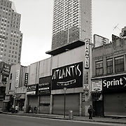 "Atlantis Great City of Hip Hop store in the old school incarnation of Downtown Brooklyn. Taken from the series ""Down with the Ship"""