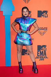 Noa Kirel attends the MTV EMAs 2019 at FIBES Conference and Exhibition Centre on November 03, 2019 in Seville, Spain. Photo by David Niviere/ABACAPRESS.COM