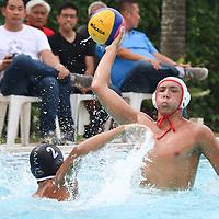 Dlatson (ACSI#12) aims for a long pass. (Photo © Chua Kai Yun/Red Sports)
