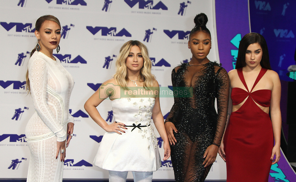 The 2017 MTV Video Music Awards Arrivals at The Forum in Inglewood, California on 8/27/17. 27 Aug 2017 Pictured: Fifth Harmony. Photo credit: River / MEGA TheMegaAgency.com +1 888 505 6342