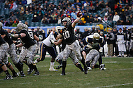 6 Dec 2008: Army Quarterback Chip Bowden throws a pass during the Army / Navy game December 6th, 2008.  The Navy won 34-0 at Lincoln Financial Field in Philadelphia, Pennsylvania.